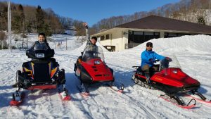 snow mobile kami seya images