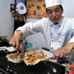 open day tozai 2018 show cooking okonomiyaki images