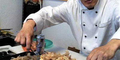 open day tozai 2018 show cooking okonomiyaki images
