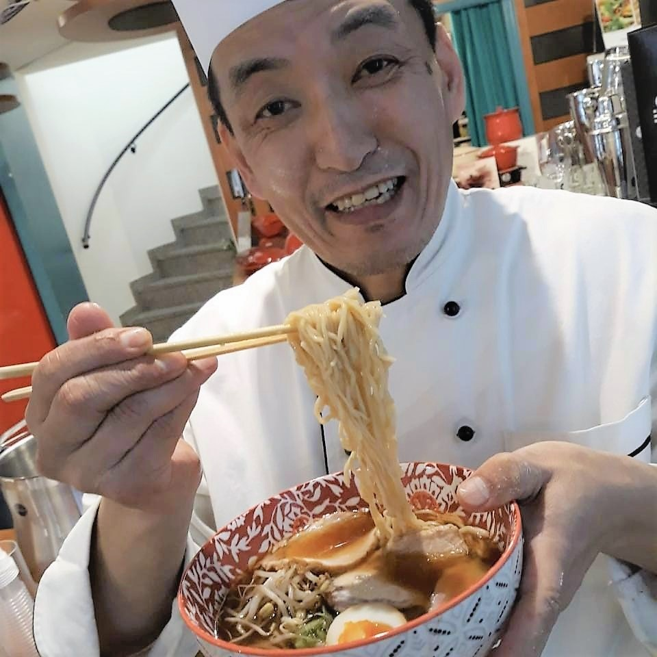 open day tozai 2018 show cooking ramen