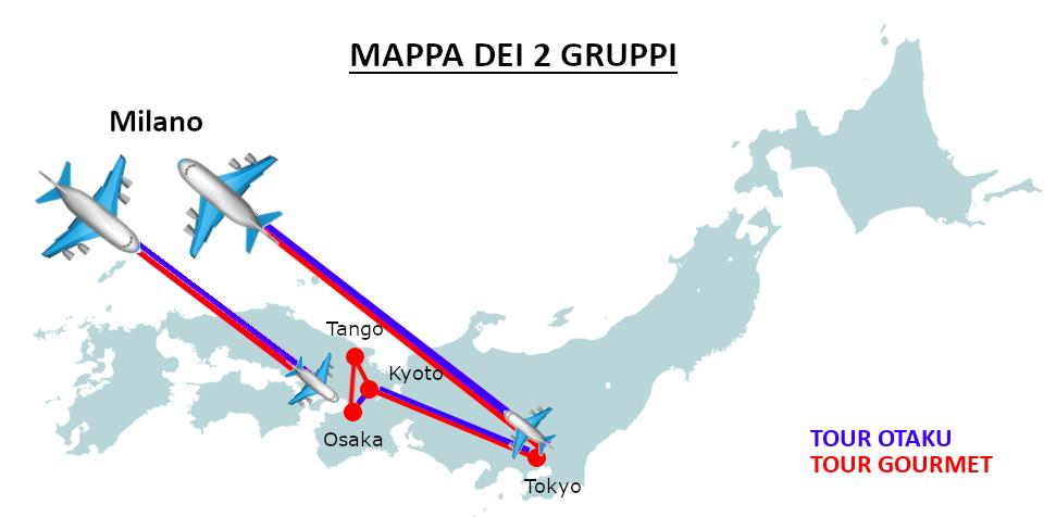 mappa viaggio giappone 2019 images