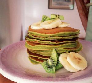 come preparare pancakes matcha completo image