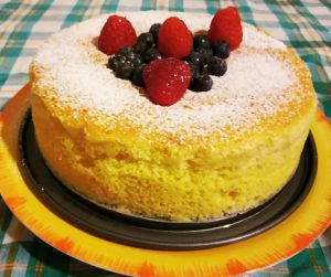 Cotton Japanese cheesecake completa image