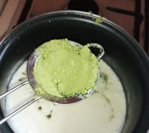 come preparare gelato al matcha tè image