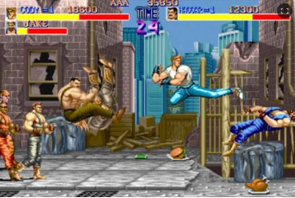 evento retrogames final fight images