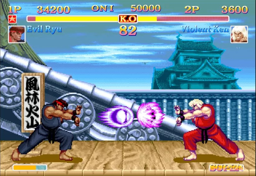 evento retrogames street fighter 2 images