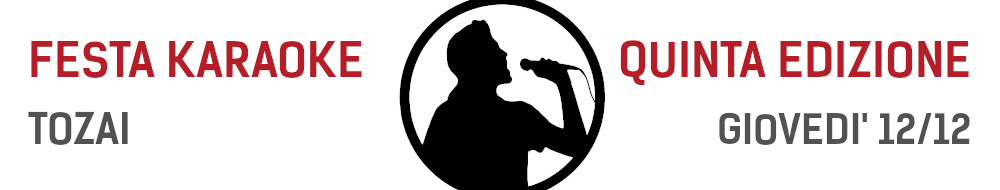 festa-karaoke-tozai-venerdi-12-dicembre-2019 images