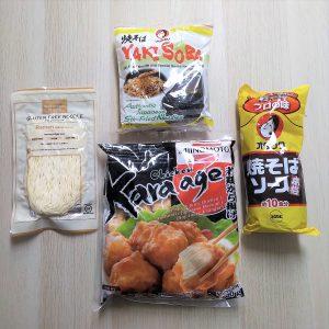 kit yakisoba karrage tozai images