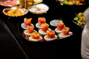 personal chef catering sushi images